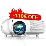 Proyector, TOPTRO 7000 Lúmenes Proyector Full HD 1080P Nativo 1920x1080 Soporta...