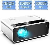 Mini proyector, ELEPHAS Video Proyector 3800 Lux Proyector de Cine en casa portátil LED de...