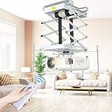 HUKOER 70 cm Soporte de pared para proyector motorizado,distancia adjustable para Cine,...
