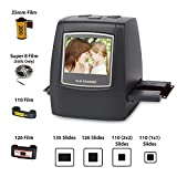 DigitNow! Escáner de diapositivas y negativos, películas Super-8, 35 mm, 110 mm y 126 mm,...