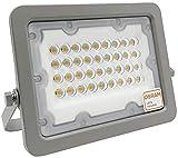 Foco LED Exterior OSRAM 30W 50W 100W 150W 200W, IP65 Luz Natural 4000K, Proyector AVANT Slim...