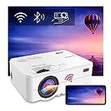 Proyector WiFi Bluetooth, Artlii Enjoy2 Mini proyector portátil, Compatible con 1080p Full HD,...