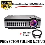 Proyector Full HD Nativo 1080P, UNICVIEW FHD900 (Actualizado 2019), Proyectores Maxima...