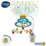 VTech - Baby Noche Estrellitas, Proyector móvil para bebé, con luces y sonidos relajantes,...