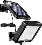 Lámpara Solar Para Exterior, MPJ Lámpara Solar 56 Led Para Exteriores Con Detector De...