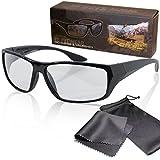 Gafas 3D pasiva para RealD - Negro y deportivo - Polarizadas circular - Con estuche y paño de...