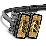 UGREEN Cable VGA a VGA, Cable VGA Macho a Macho 15 Pin HD15 Cable D-Sub 15 de 1920x1200...