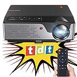Proyector FULLHD Cine en casa portatil con TDT Unicview SG100 Negro lampara LED de 50.000 Horas...