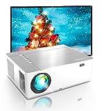 Proyector 4K, 7200 Brillo 1080p Nativo, Full HD Proyector 5D Keystone 50% Zoomout, Proyector...