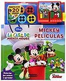 La casa de Mickey mouse. Mickey películas. Libro de Lectura con proyector: Historias que...