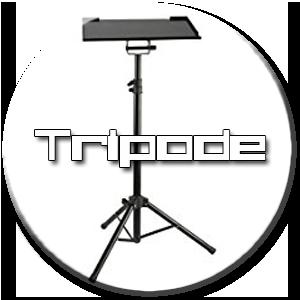 tripode para mini proyector