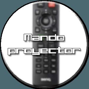 control remoto proyector