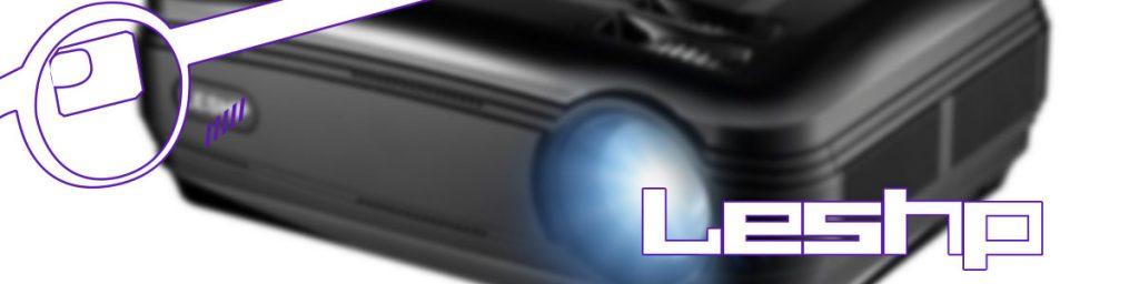 leshp proyector led full hd 1080p 3200 lúmenes