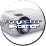 proyector exterior